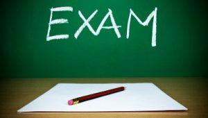 Exam Schedule – January 2020
