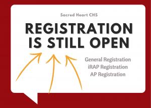 Registration Deadlines Extended